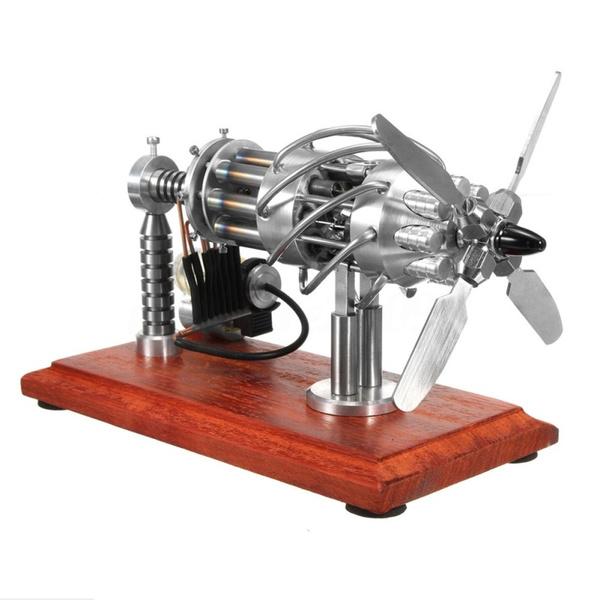 двигатель будущего. небольшой двигатель Стирлинга (изобретенный в 1816 году как конкурент парового двигателя).