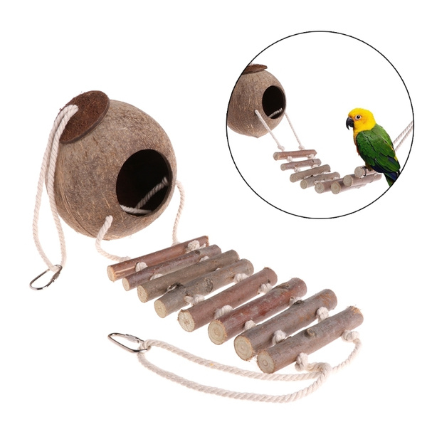 Toy, Natural, hideaway, birdparrot
