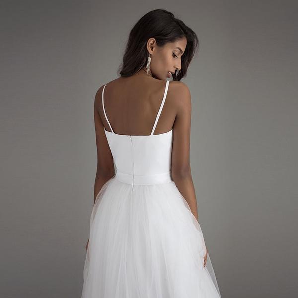 Wish | Spaghetti Strap Beach Wedding Dresses 2017 LORIE Vestido ...
