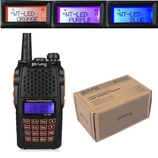 Handheld Scanner Radio Portable Police Fire EMS HAM Two Way Transceiver  Digital