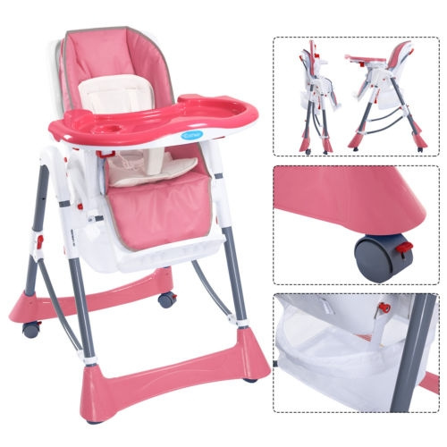 Portable High Chairs Baby High Chair Infant Toddler Feeding