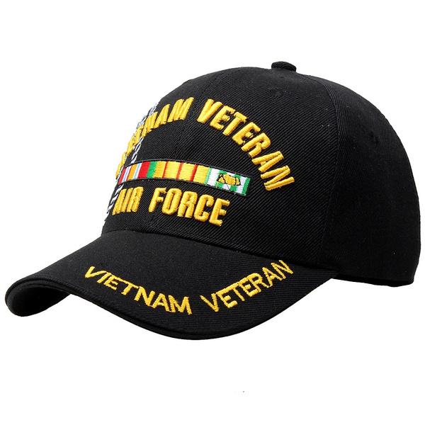 Vietnam Veteran Air Force Hats Caps Snapback Fashion Baseball Hat Military  Hat