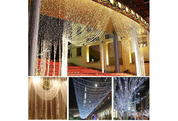 10M 100LED String Fairy Lights Christmas Wedding Party Xmas LED Light Waterproof