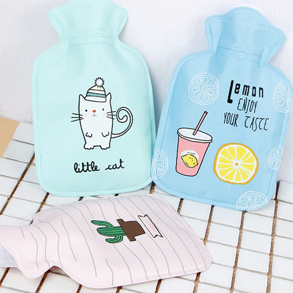 Mini Hot Water Bottle Portable Small Warm Hand Water Bag