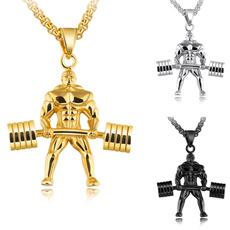 Steel, Boy, Necklaces Pendants, Jewelry