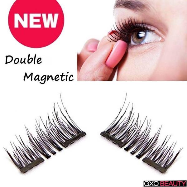0d00a94e159 Natural 3D Magnetic Eyelash Eye Lashes Makeup Women's Fashion ...