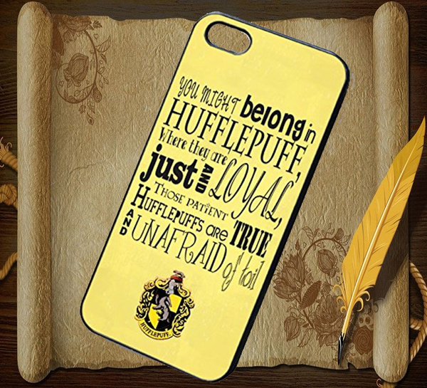 Wish Handmade Hufflepuff Crest Quotes And Symbol For Iphone 4 4s 5