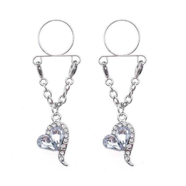 Steel, Heart, Fashion, Jewelry