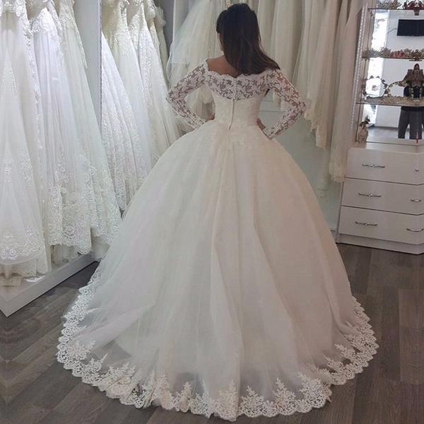 Wish | Ksd001 Vestido De Noiva Custom Made Bridal Dresses Wedding ...
