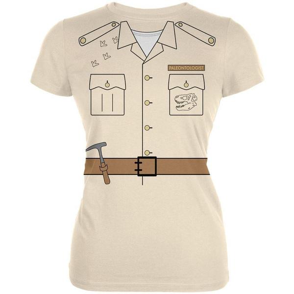 Halloween Paleontologist Dinosaur Hunter Costume Youth T Shirt