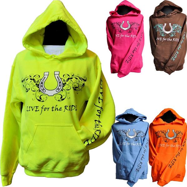 hoody sweatshirt, horse, Plus Size, Coat