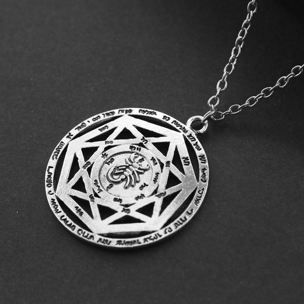 Wish supernatural necklace hepta gram scorpion key of solomon 25 2 aloadofball Gallery