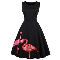 50sdressvintage, Swing dress, Plus Size, party