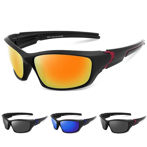 cd03f1f1e1c4 NEW Brand Design Men Women Fashion TR90 Frame Polarized Sports ...