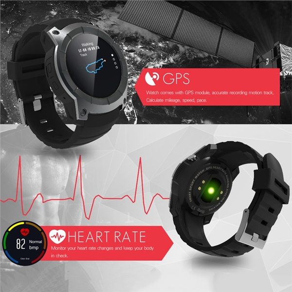 S958 Smart Watch Sports Waterproof Heart Rate Monitor GPS 2G SIM Card  Communication Smart Watch Compatible with Android IOS Phones