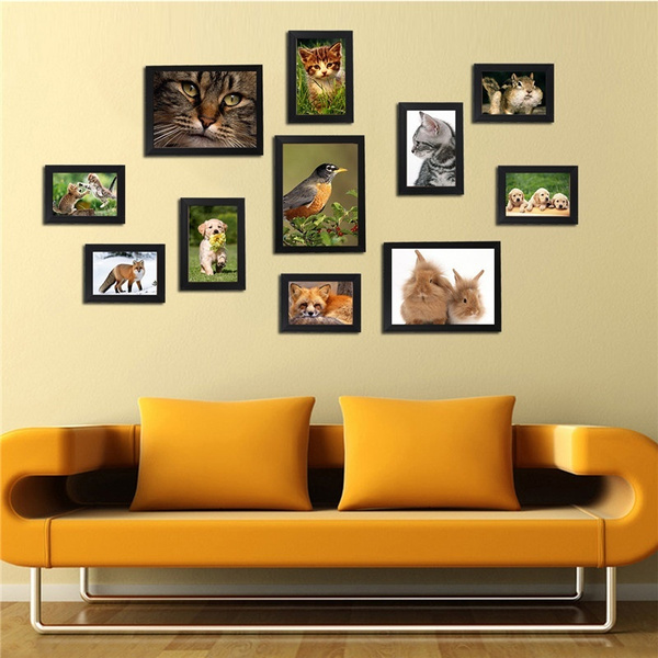 Wish | 11pcs DIY Combination Photo Frame Wall Home Decoration ...