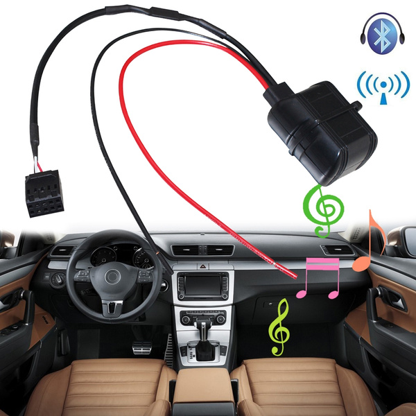 Car Bluetooth Module for BMW E39 E46 E53 3 Series Radio Stereo Aux Cable  Adapter with Filter Wireless Audio Input