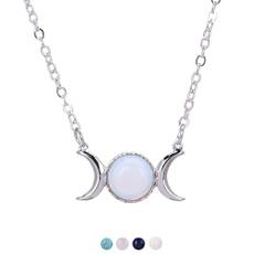 Fashion, Jewelry, Chain, moonsunpendant