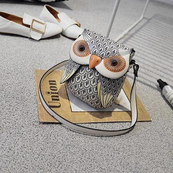 Wish   CGS Cute Owl Shoulder Bag Purse Handbag Women Messenger Bags FOR  Summer Girls Cartoon with Crossbody Phone Bag Owl Bag chxnb 1d44990650