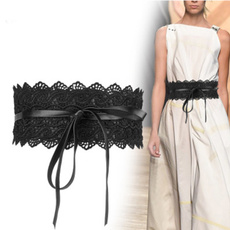 Clothing & Accessories, wide belt, Fashion, Lace