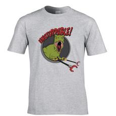 Short Sleeve T-Shirt, Tops & Blouses, Shirt, Dinosaur