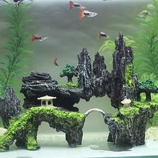 Tank, Home Decor, rockery, fish