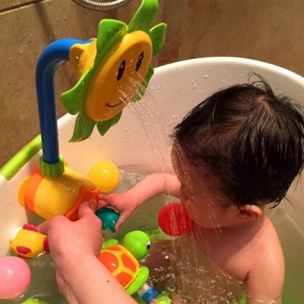 water, Toy, Sunflowers, bathingtoy