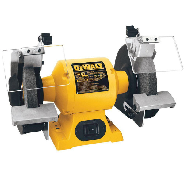 Astonishing Refurbished Dewalt Dw758 8 Inch Bench Grinder Gmtry Best Dining Table And Chair Ideas Images Gmtryco