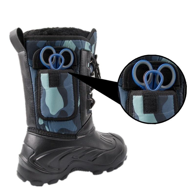 9c83b2f1eb63f Men'S Spring Winter Snow Boots Waterproof Fishing Outdoor Skiing ...