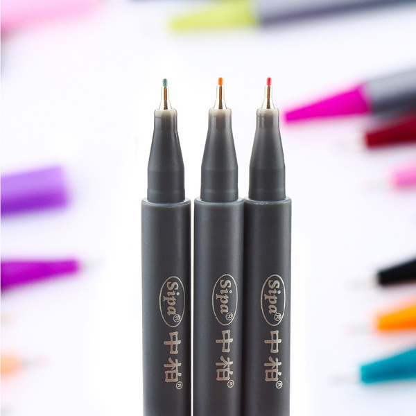 wish 10 colors set 0 38mm fine liner colored marker pens