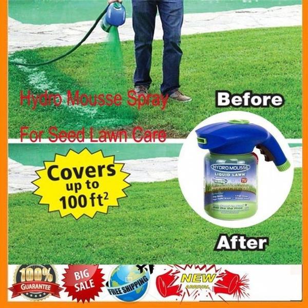 Hydro Mousse Household Hydro Seeding System Liquid Spray Device F