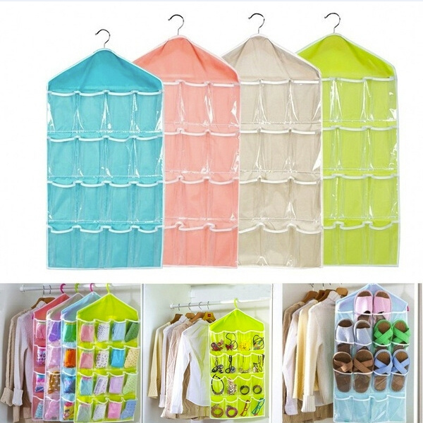 hangingstorageorganizerbag, Closet, Socks, hangingbag