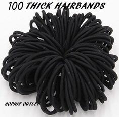 hairelastictie, hair tie, colorfulhairbandsjewelry, 100pcslot