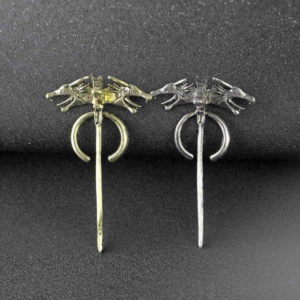 Song of Ice and Fire Game of Thrones Daenerys Targaryen Dragon Ear Studs