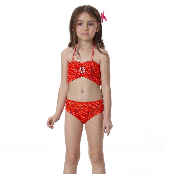 superstar 4pcs girls mermaid tail swimsuit