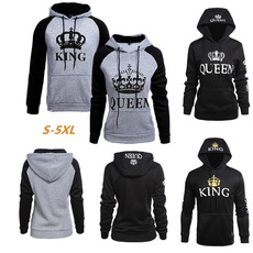 Couple Hoodies, King, hooded, Coat