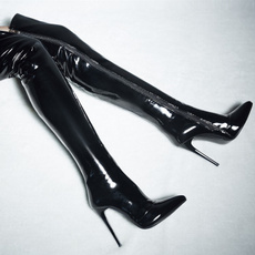 Fashion, Womens Shoes, leather, theoverkneeboot