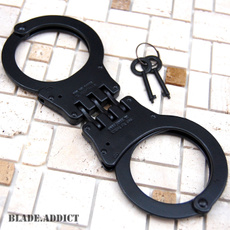 Steel, steelhandcuff, black, Keys