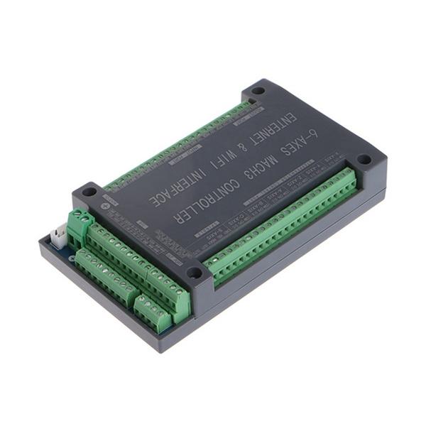 For NVUM 6 Axis CNC Controller MACH3 Ethernet Interface Board Card 200KHz For St