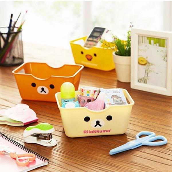 Box, comesticstoragebox, rilakkuma, Storage