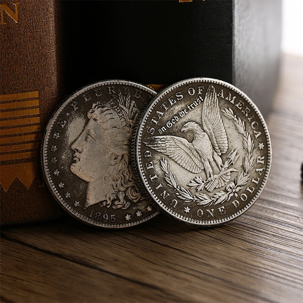 The Most Valuable Collection of The New Currency of The Year 1895 Morgan  American Dollar Copy Coins High Quality