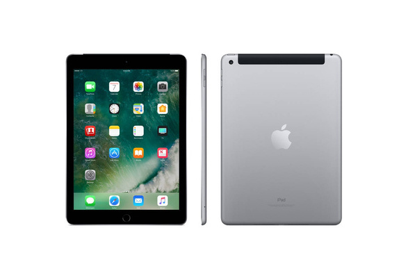 Apple iPad 2017 32GB Space Gray Cellular AT/&T MP242LL//A