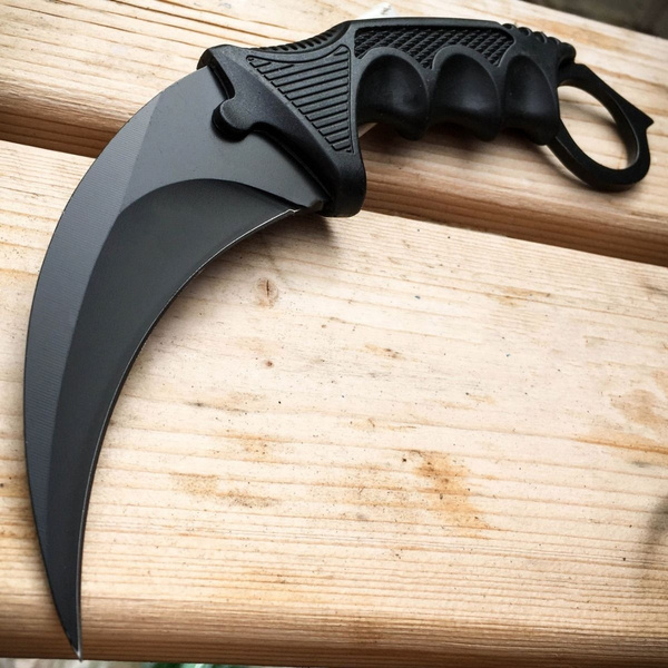 Counter Default Real CSGO Karambit GO Knife Skin Default CS Strike Knives