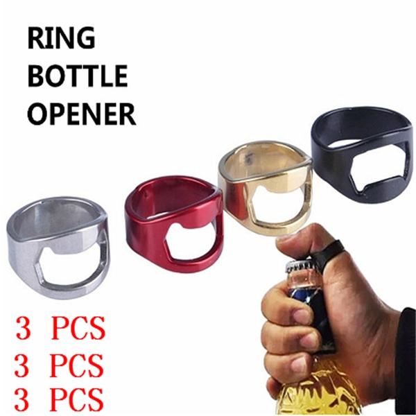 Steel, ringpopbottleopener, bottleopener, Tool
