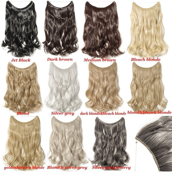 Wish 2024 Straightcurly Secret Wire Hair Extensions