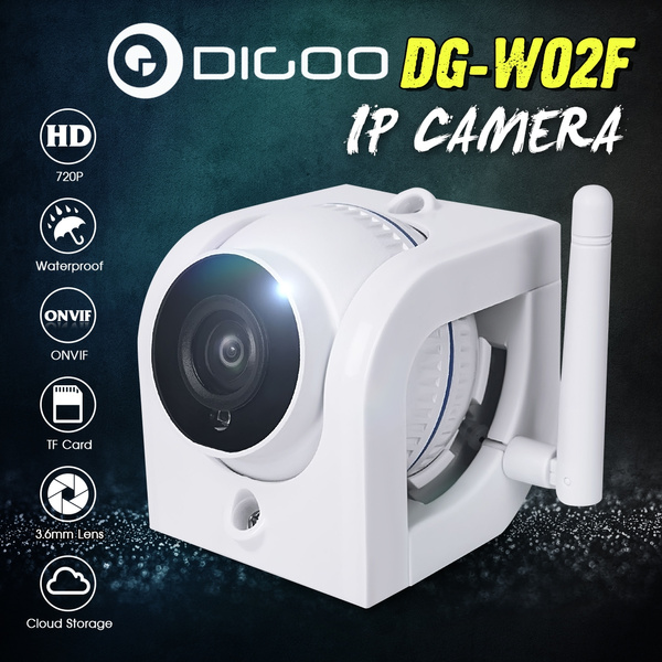 Digoo DG-W02f 720P HD Waterproof Outdoor WIFI Security CCTV IP Camera  Monitor Motion Detection Alarm Onvif Cloud Storage Home Surveillance