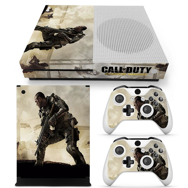 Digital Print Sticker Covers Skins Microsoft Xbox One S Console Skin Decal  Sticker + 2 Controller Skins - Call of Duty