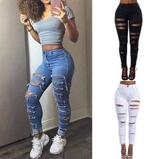 Women Pants, Blues, trousers, Moda