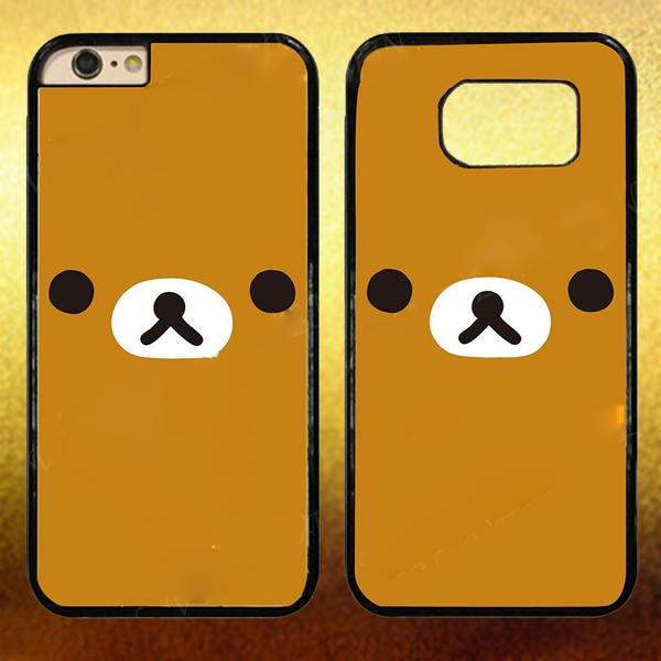 wholesale dealer 91284 88306 Cute Cartoon Rilakkuma Plastic Hard Phone Case Cover for Iphone / Samsung  Case for Apple Iphone 4s 5/5s 5c 6/6s 7 and Samsung Phones Samsung Galaxy  S6 ...