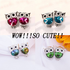 Sterling, Owl, owl jewelry, Regalos